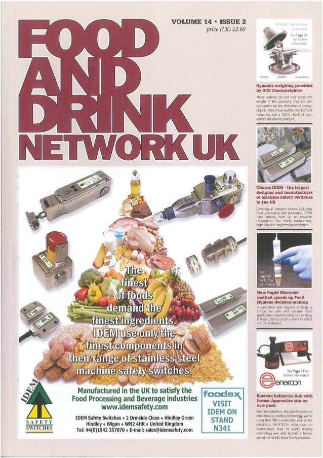 Testo - Food and Drink Network UK - Feb 2014