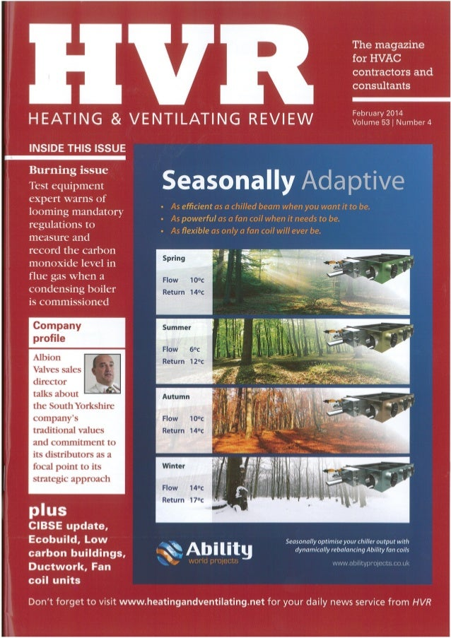 Testo - Heating and Ventillation Review - Feb 2014