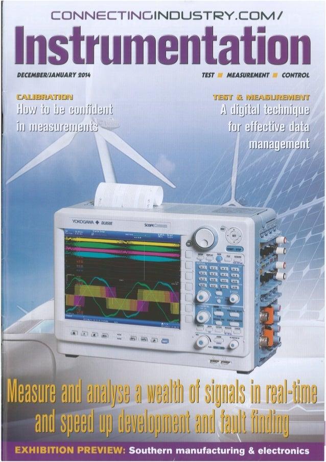 Testo (Connecting Industry instrumentation) Jan 2014