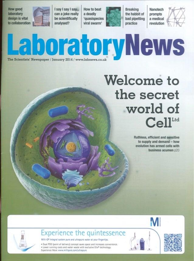 Testo (laboratory news) Jan 2014