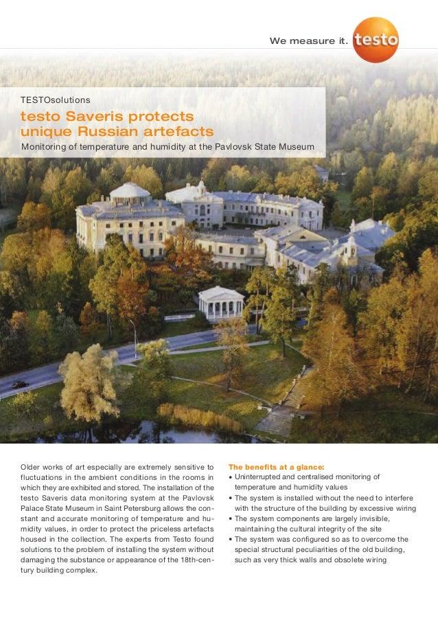 Testo   pavlovsk state museum saveris