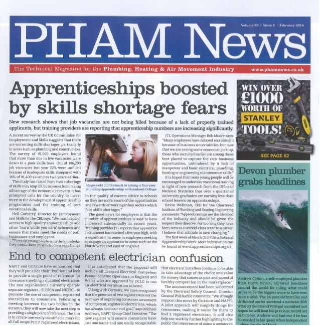 Testo - PHAM News - Feb 2014