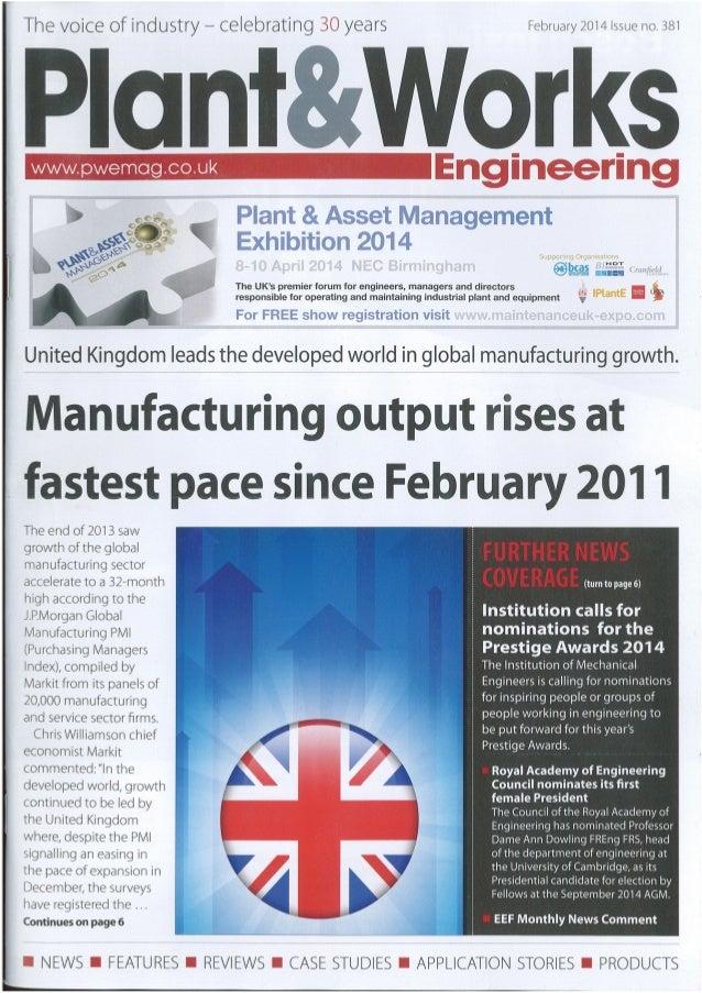 Testo - Plant and Works Engineering - Feb 2014