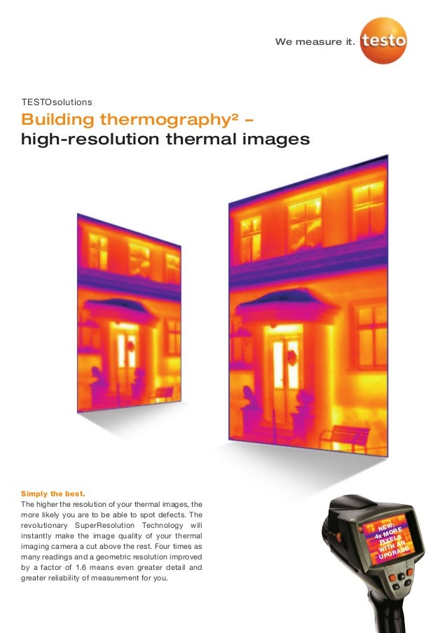 Testo   thermography super-resolution building