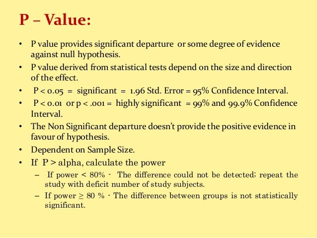 how to calculate power statistics