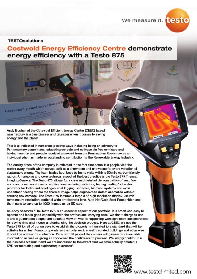 Testo thermal   cotswold eec