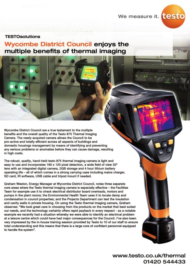 Testo thermal   wycombe dc