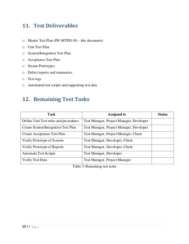 thesis test plan A case study on software testing methods and tools a pre-study on software  testing requirements of iso/dis 26262 master of science thesis in software.