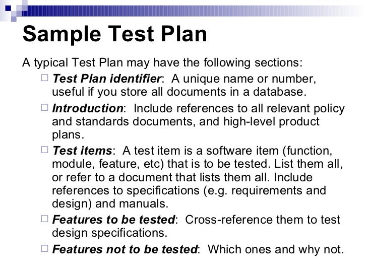 Sample Test Plan  LatifaTk