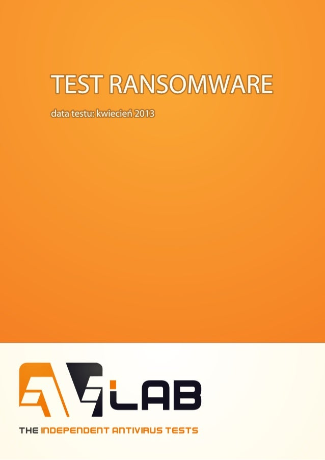 Test ransomware