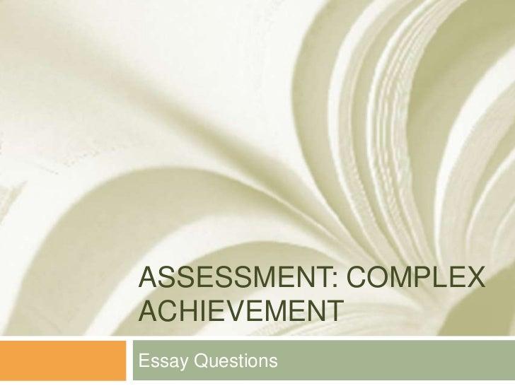 essay type test ppt