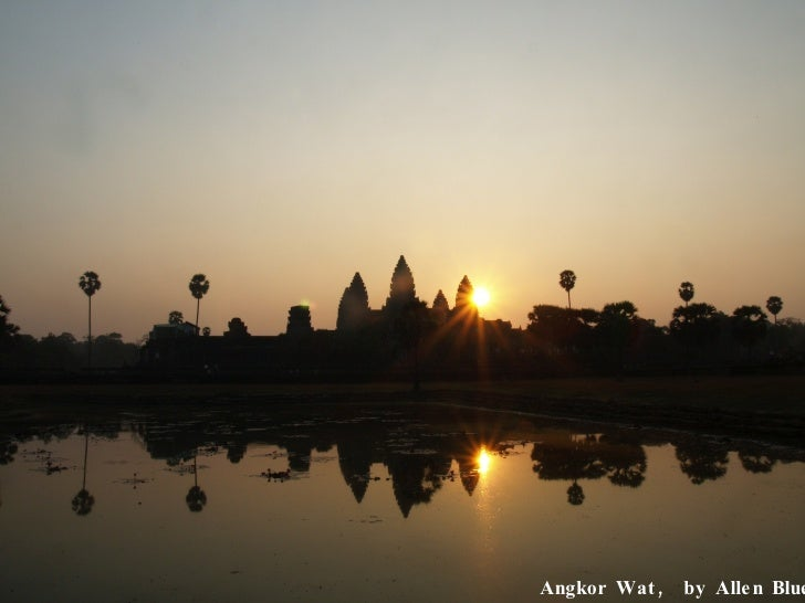Angkor Wat,  by Allen Blue