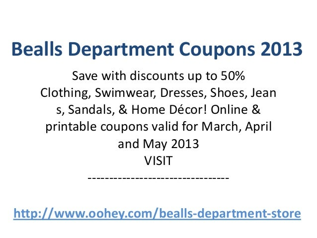 Bealls coupons in store may 2018