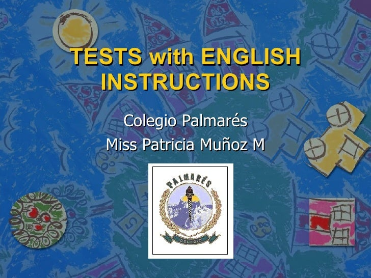 Trouble with english tests?