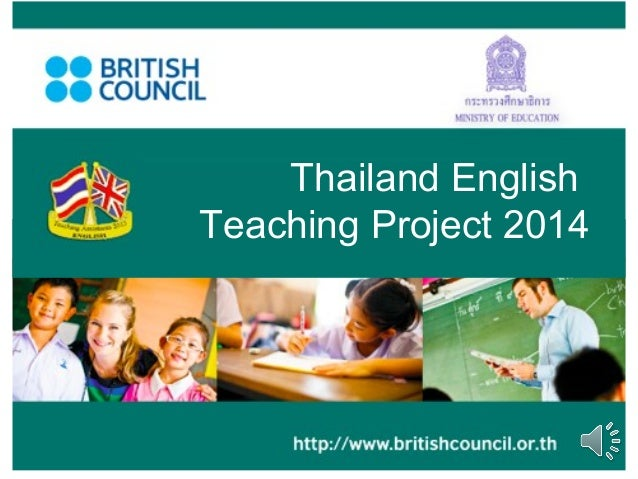 Thailand English Teaching Project 2014