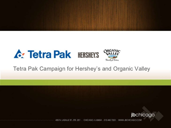 Tetra Pak Campaign for Hershey's and Organic Valley