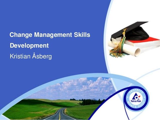Change Management Skills Development Kristian Åsberg