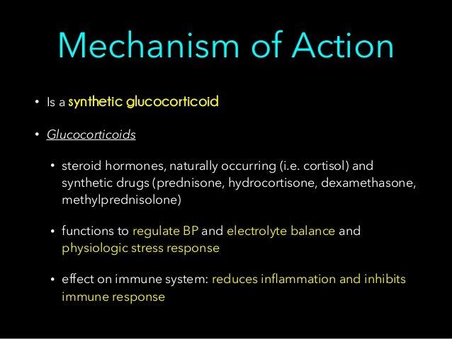 tne steroid dosage