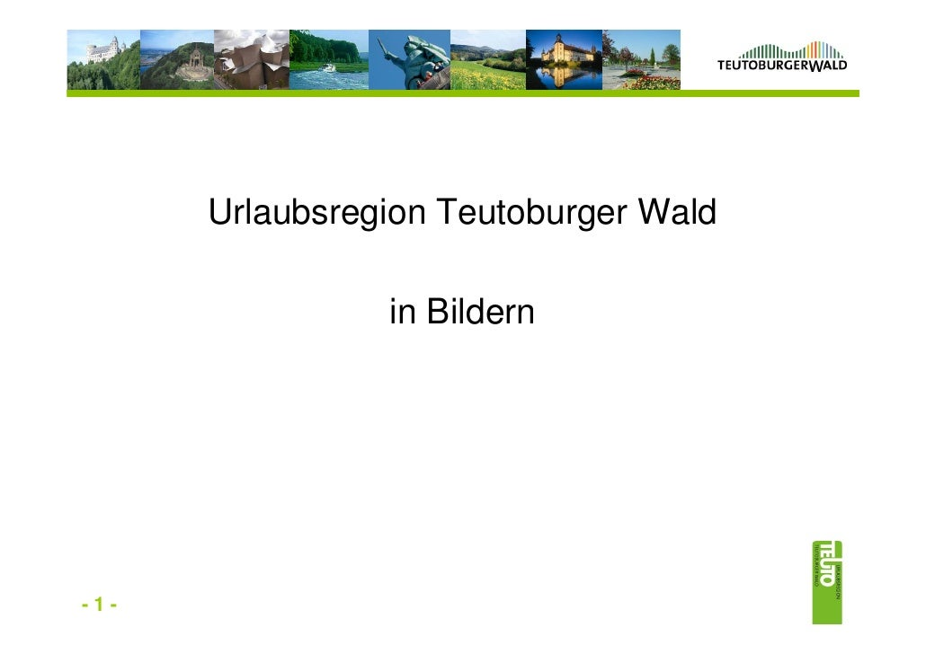 Urlaubsregion Teutoburger Wald      Urlaubsregion Teutoburger Wald                   in Bildern-1-