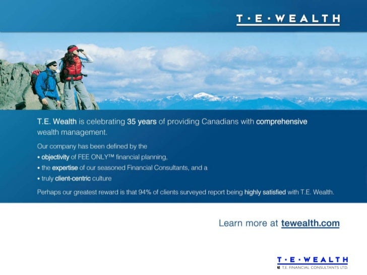 T.E. Wealth Corporate Presentation