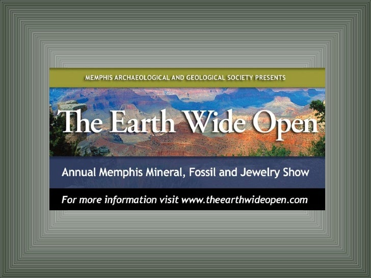 The Earth Wide Open 2009