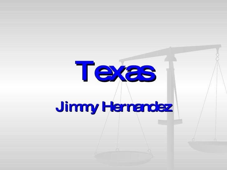 Texas Jimmy Hernandez