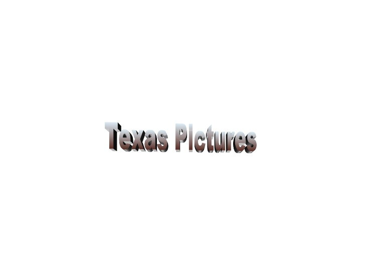 Texas Pictures