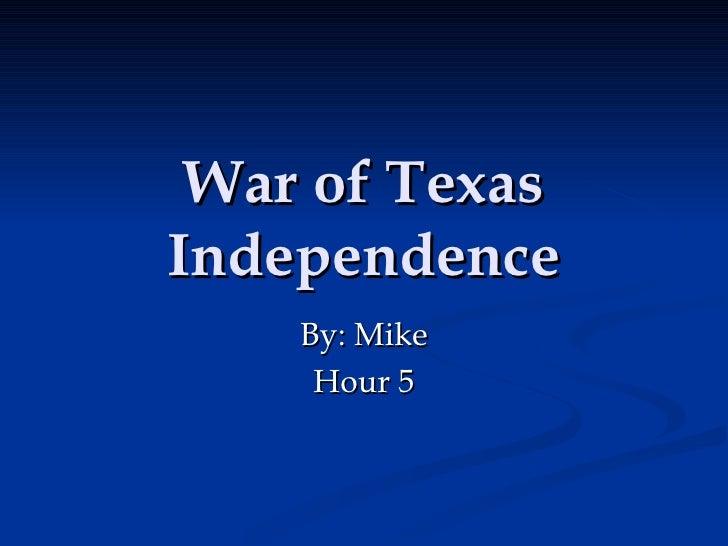 Texas War