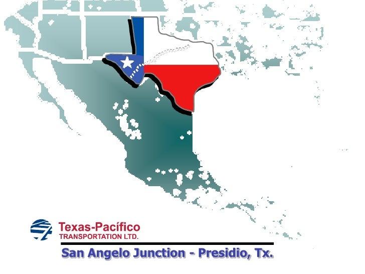 San Angelo Junction - Presidio, Tx.<br />
