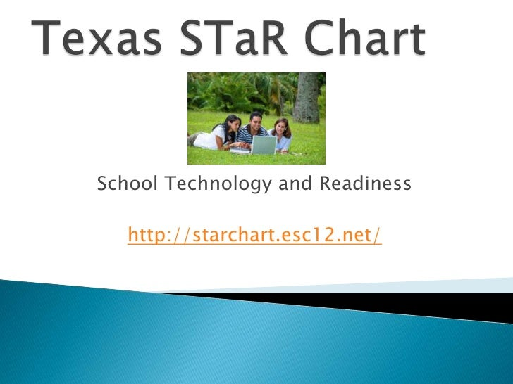 Texas STaRChart<br />School Technology and Readiness<br />http://starchart.esc12.net/<br />