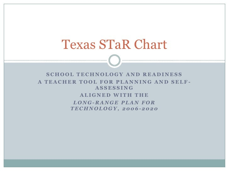 School Technology and Readiness<br />A Teacher Tool for Planning and Self-Assessing<br />aligned with the<br />Long-Range ...