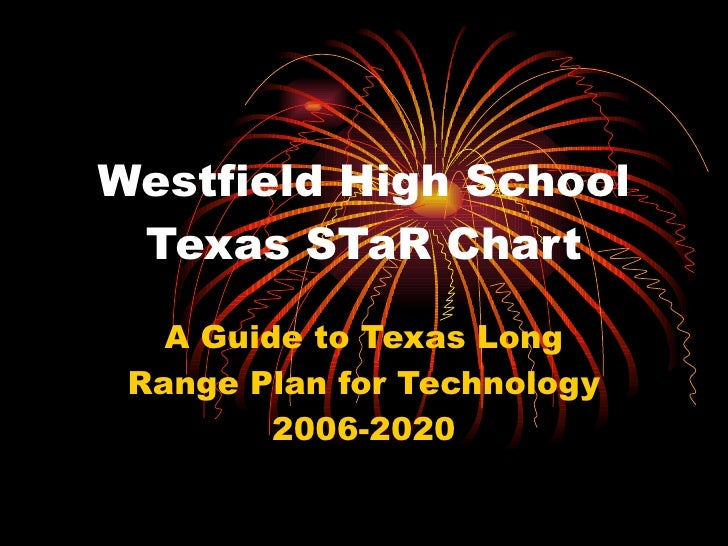 Westfield High School Texas STaR Chart A Guide to Texas Long Range Plan for Technology 2006-2020