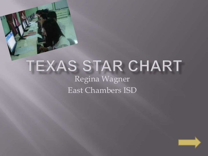 Texas STaR Chart<br />Regina Wagner<br />East Chambers ISD<br />