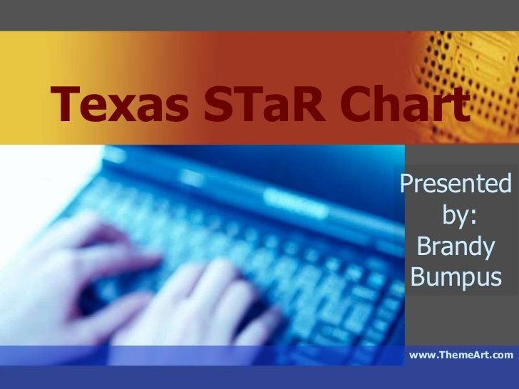 Texas STaR Chart<br />Presented<br /> by:<br />Brandy <br />Bumpus<br />www.ThemeArt.com<br />