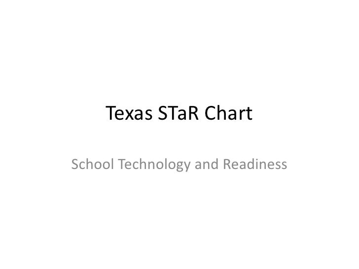 Texas  S Ta R  Chart Power Point