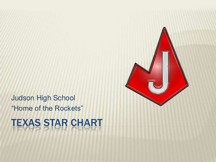 """Texas star chart<br />Judson High School<br />""""Home of the Rockets""""<br />"""