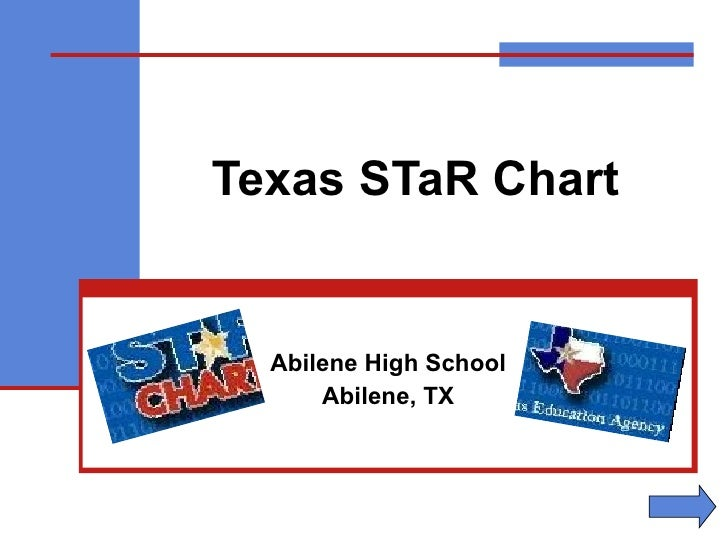 Texas STaR Chart Abilene High School Abilene, TX