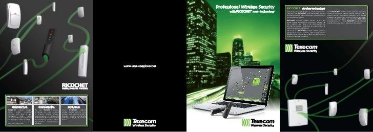 Professional Wireless Security          RICOCHET™ wireless technology                                                     ...