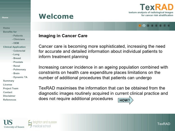 Home Welcome Imaging in Cancer Care Cancer care is becoming more sophisticated, increasing the need for accurate and detai...
