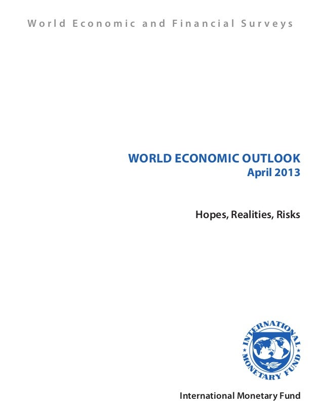 World Economic Outlook 2013