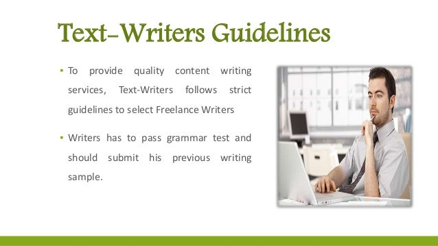 Content writers online