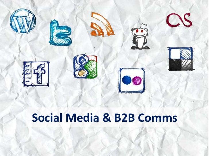Social Media & B2B Comms