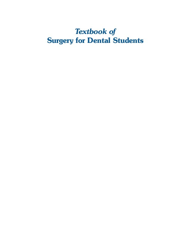 Surgical Specimens  Textbook of Surgery for Dental Students  i