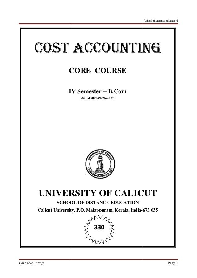 Bachelor of Science in Accounting