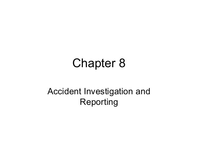 Safety Management Chapter 8