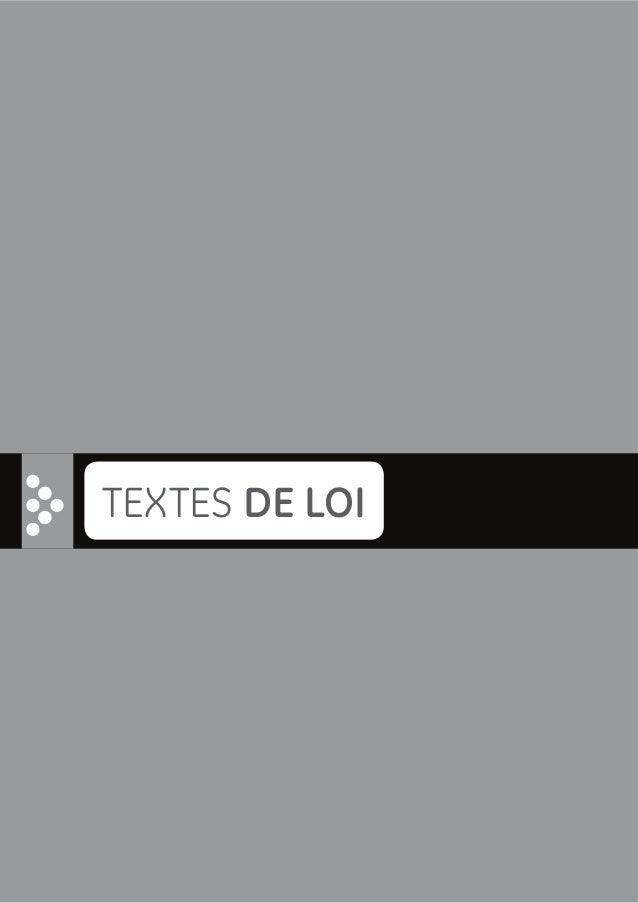 16 TEXTES DE LOI w