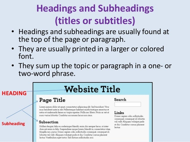 can essays have subheadings How to construct an essay is a short recap of what you have said in the essay perhaps even sub-headings.