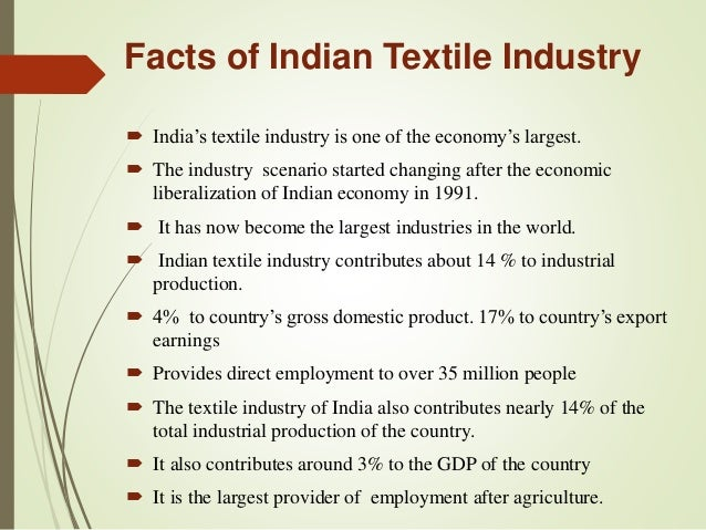 financial analysis of the textile industry Textile industry dr k k  a study on capital structure and financial performance of indian textile industry  tools for analysis.