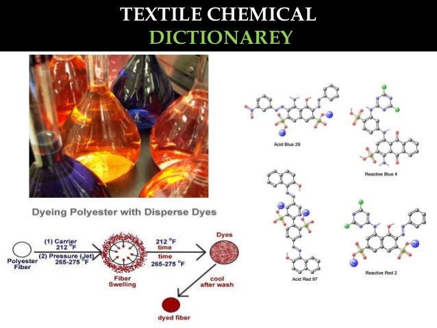 TEXTILE CHEMICAL DICTIONAREY