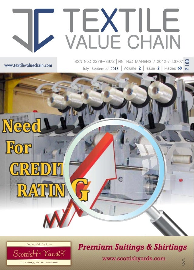 TEXTILE VALUE CHAIN JULY- SEP 2013 ISSUE